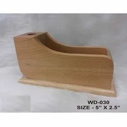Shoe Shaped Wooden Penstand