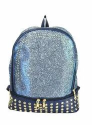 Shining Glittering Print Girls Backpack