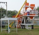 Movable Concrete Batching Plant