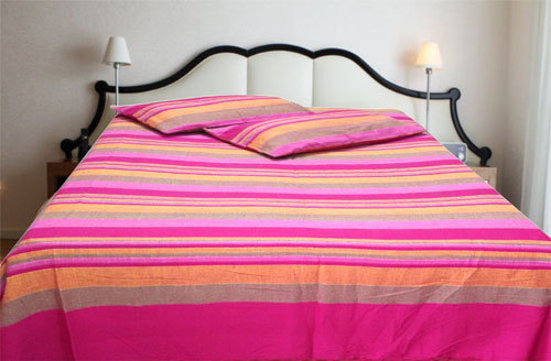 handloom bed covers at rs 150 piece panipat id 17053666030