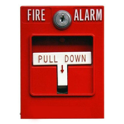Manual Pull Down Fire Alarm