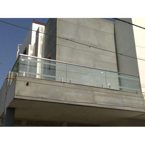 Ss Glass Balcony Grill At Rs 1250 Unit Danteshwar Vadodara Id