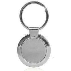 Round Shape Metal Key Chain