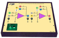 Op - Amp as Differentiator & Integrator Trainer