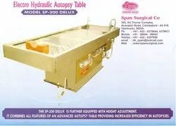 Electro Hydraulic Autopsy Table