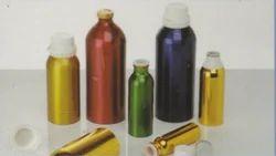 Color Coated Aluminum Bottle