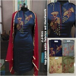 Silk Embroidery Suit