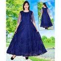 Blue Designer Gown