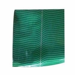 Green Paper Plate Sheet