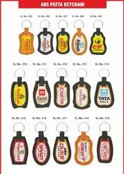 PVC Design ABS Pata Keychain, for Promotional, Shape: readymade