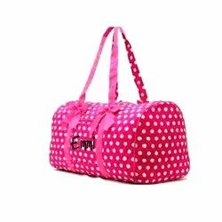D Shape Pink,Blue,Green,Etc(available) Casual Duffle Bag, for Travel
