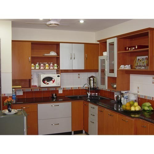 Modular Kitchen Magnon India: PVC Modular Kitchen At Rs 1350 /square Feet