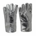 Aluminium Pvc Aluminized Fiberglass Hand Gloves