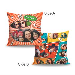 Both Side Pillow Photo Printed Services