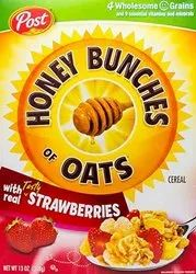Post Honey Bunches Oats, with Real Strawberries, 368gm