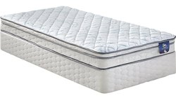 白色普通单床床垫,尺寸:3 x 6,厚度:5至7英寸