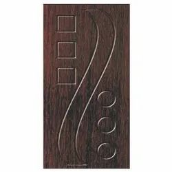 Brown Wooden Laminated Door