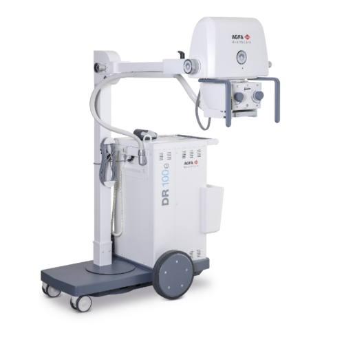 Dr 100ecompact Mobile X Ray Unit Agfa Healthcare India