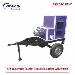 ARS Coconuts Deshelling machine