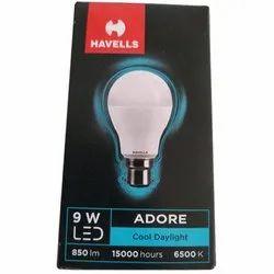 Cool daylight 9 W Havells LED Bulb