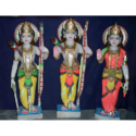 Multicolor Marble Ram Darbar Statue