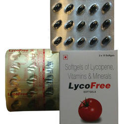 Food Grade Lycopene Vitamins And Minerals Softgel Capsules, Packaging Type: Blister