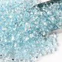 Natural Sky Blue Topaz Cut Stone