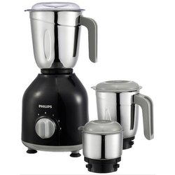 Black, Silver Philips HL7756/00 Daily Collection Mixer Grinder, 750 W