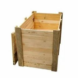 Pinewood Wooden Packing Case