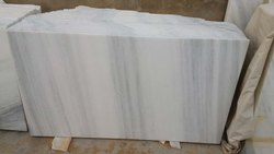Premium quality Polished Finish White Makharana Marble, Thickness: 20-30 mm, Slab