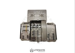 Uteshiya Medicare Steel Small Fragment Set, For 3.5mm plating system