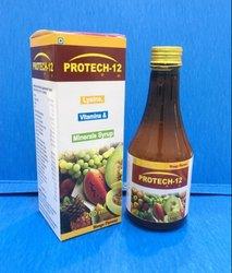 Protech - 12 Multivitamin and Multi Minerals Syrup