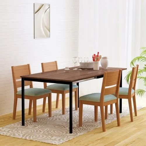 Brown Leef Expandable Folding Table