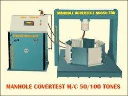 Circular Manhole Cover Testing Machine