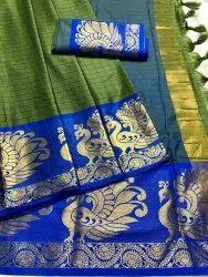 Pure Mercerised Cotton Silk Saree