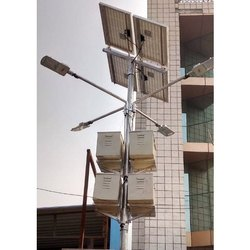 Solar High Mast Lighting Pole System
