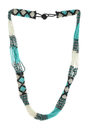 STRING SEED AUSTRIAN BEADS NECKLACE