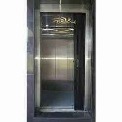 Reyon Black SS Collapsible Gates, For Commercial Purpose