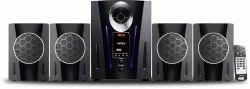 Black Bluetooth/Usb/Fm/Aux Intex IT-2650 Digi Plus FMUB 4.1 Multimedia Speaker