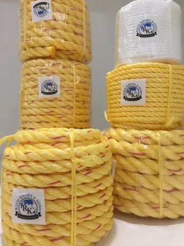 Nylon Rope - Multi Color Nylon Ropes Manufacturer from Rajkot