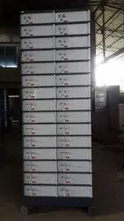 Dual Control Key Lock Durable Safe Deposit Locker, No Of Lockers: 90 Lockers