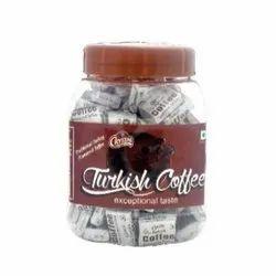 Turkish Coffee Fold Wrap Toffee Jar