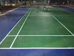 Acrylic Badminton Court Flooring