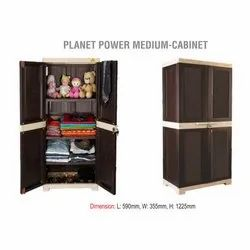 National Dark Brown Planet Power Medium Wooden Cabinet, For Home, Number Of Doors: Two
