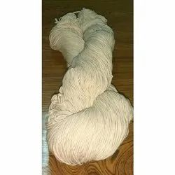 6/20 White Cotton Yarn Hank