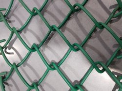 Stainless Steel SS Chain Link Fencing, Material Grade: SS304