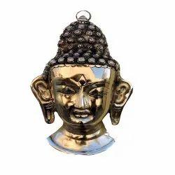 Arihantt Brass Buddha Wall Hanging
