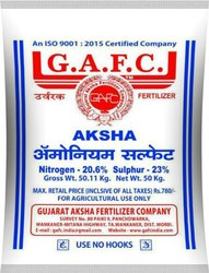 Ammonium Sulphate Fertilizer, Packaging Type: Pp Bag