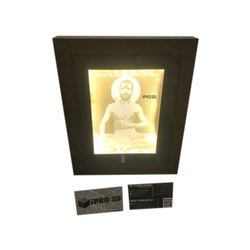 Lethophane 3D Photo Printing, Dimension / Size: 2'x 2' And Above