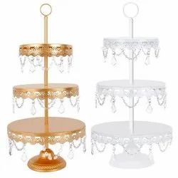 Customizable wedding and event cake stand